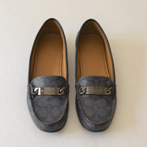 Coach Women's Monogram Loafers Size 7.5M